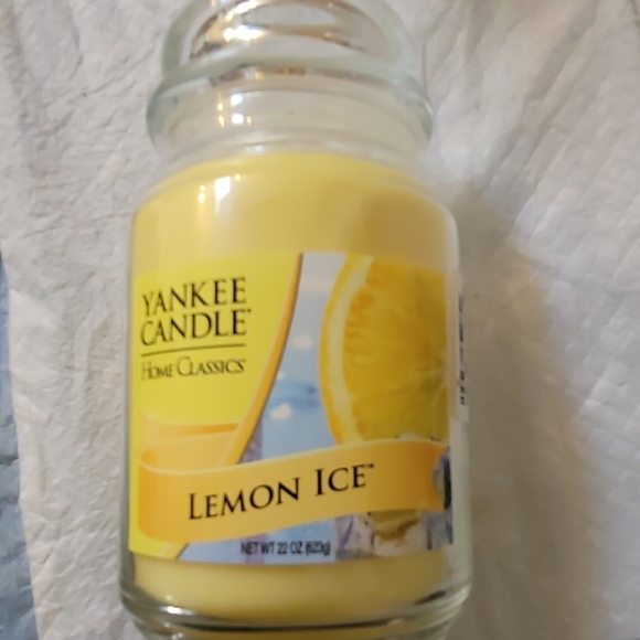 Yankee Candle Other - New Yankee Candle Lemon Ice!